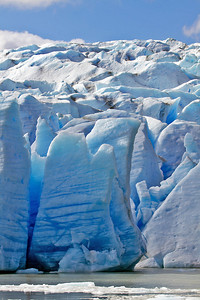 Grey Glacier, Torres del Paine National Park, Chile. February 2011. [photo © Claudio F. Vidal] - http://www.fsexpeditions.com