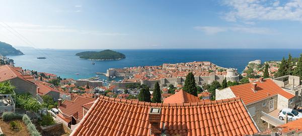 Panorámica de Dubrovnik, CROACIA