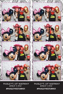 Paisley's First Birthday (Fusion Photo Booth)