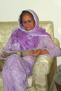Aunty Parveen.