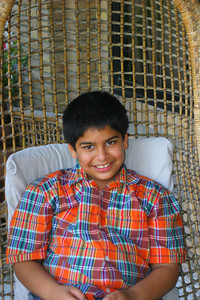 My nephew, Zeryab