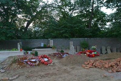 The grave is in a corner of the Army cemetary where most Army officers are buried including Uncle Saeed and Uncle Jimmy