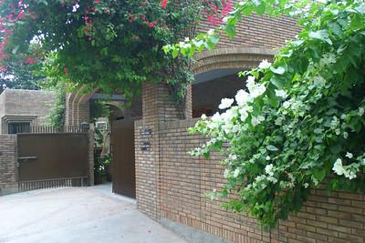 My cousin Shahid's house.