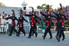 Pakistan, Wagah Border: Here come the tigers!
