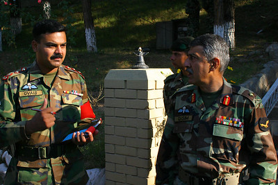 Gen. Qasim with his ADC.