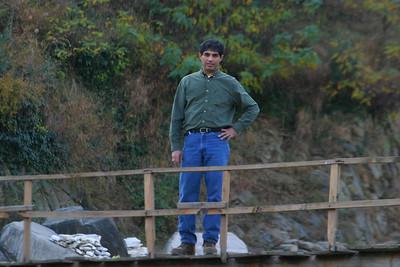 Me standing on a bridge in Jabori