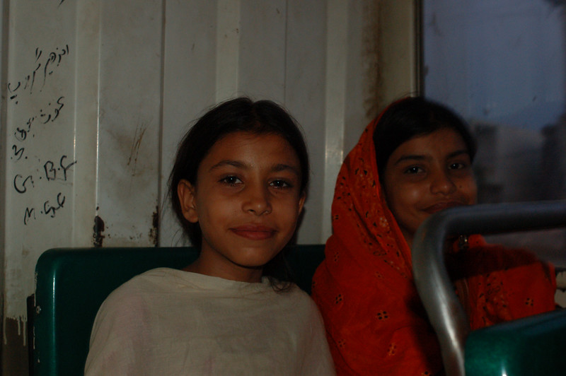 Asma and Sonia, two sister who befriended Emilie on the bus