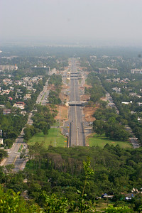 A new avenue that opened only a few days earlier in Islamabad.