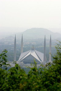 The King Faisal Mosque.  The largest in South East Asia and the 6th largest in the world.