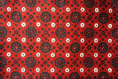 Sindhi Ajrak Classic Design