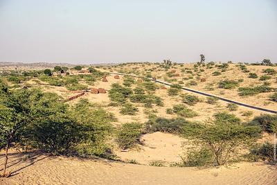 Sand Dunes of the Thar Desert