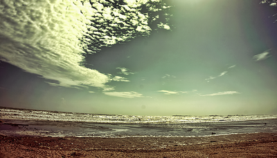 Clifton Karachi seaside photograph