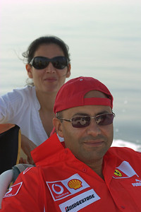 Arif and his wife.