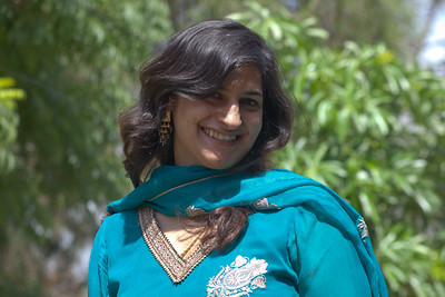 My cousin Zoya.  She has joined Pakistan International Airlines...as a pilot!  We are very very proud of her.