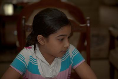 Eeshl's older sister Rameesha