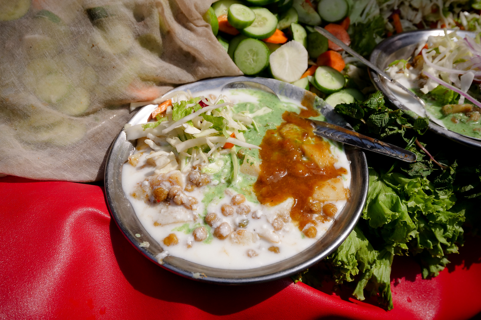 Amazing Chana Chaat Combo of Flavor