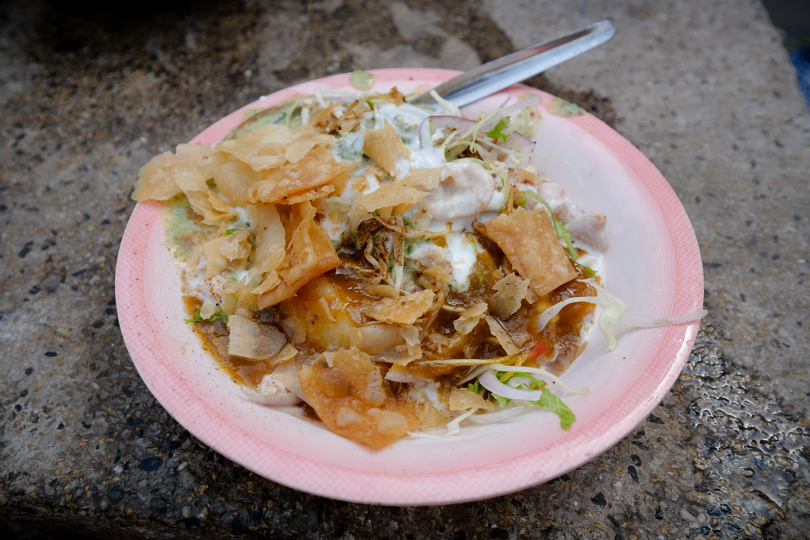 Chaat in Lahore