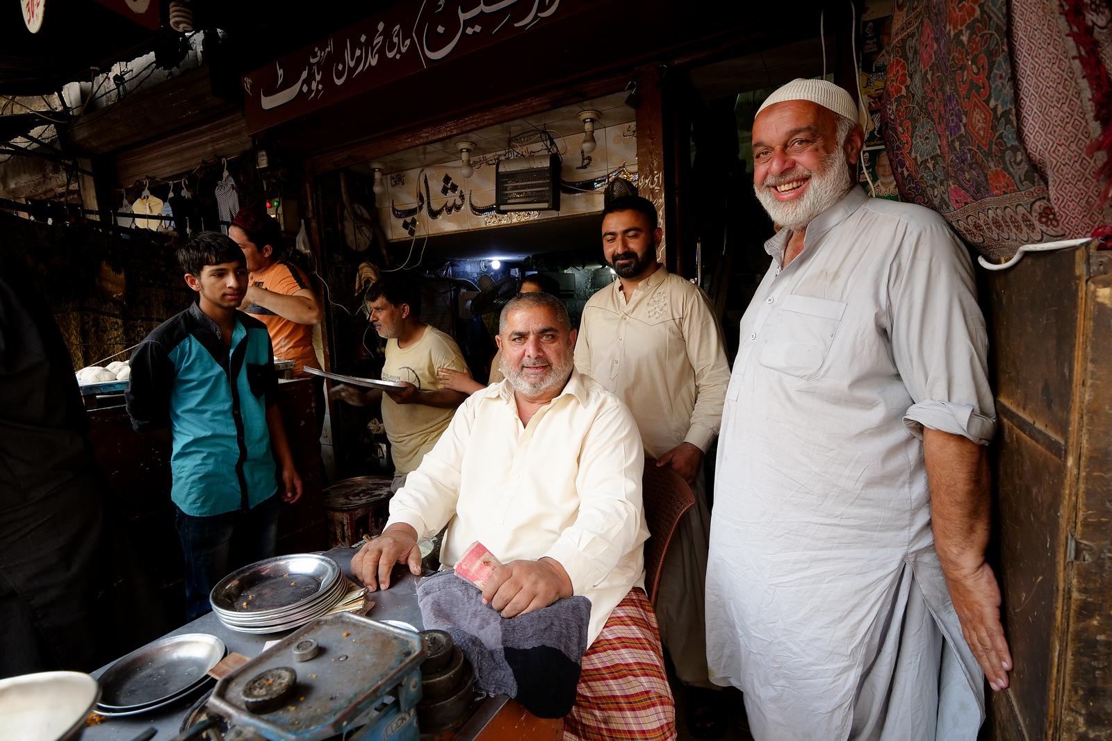 Market Vendors in Gujranwala