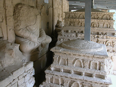 UNESCO World Heritage Site - Taxila, Pakistan.  An ancient center for Hindu and Buddhist religions.