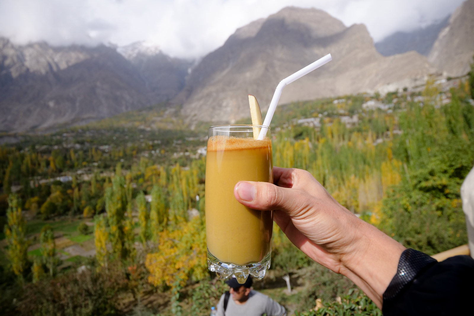 Apple Juice in the Hunza Valley