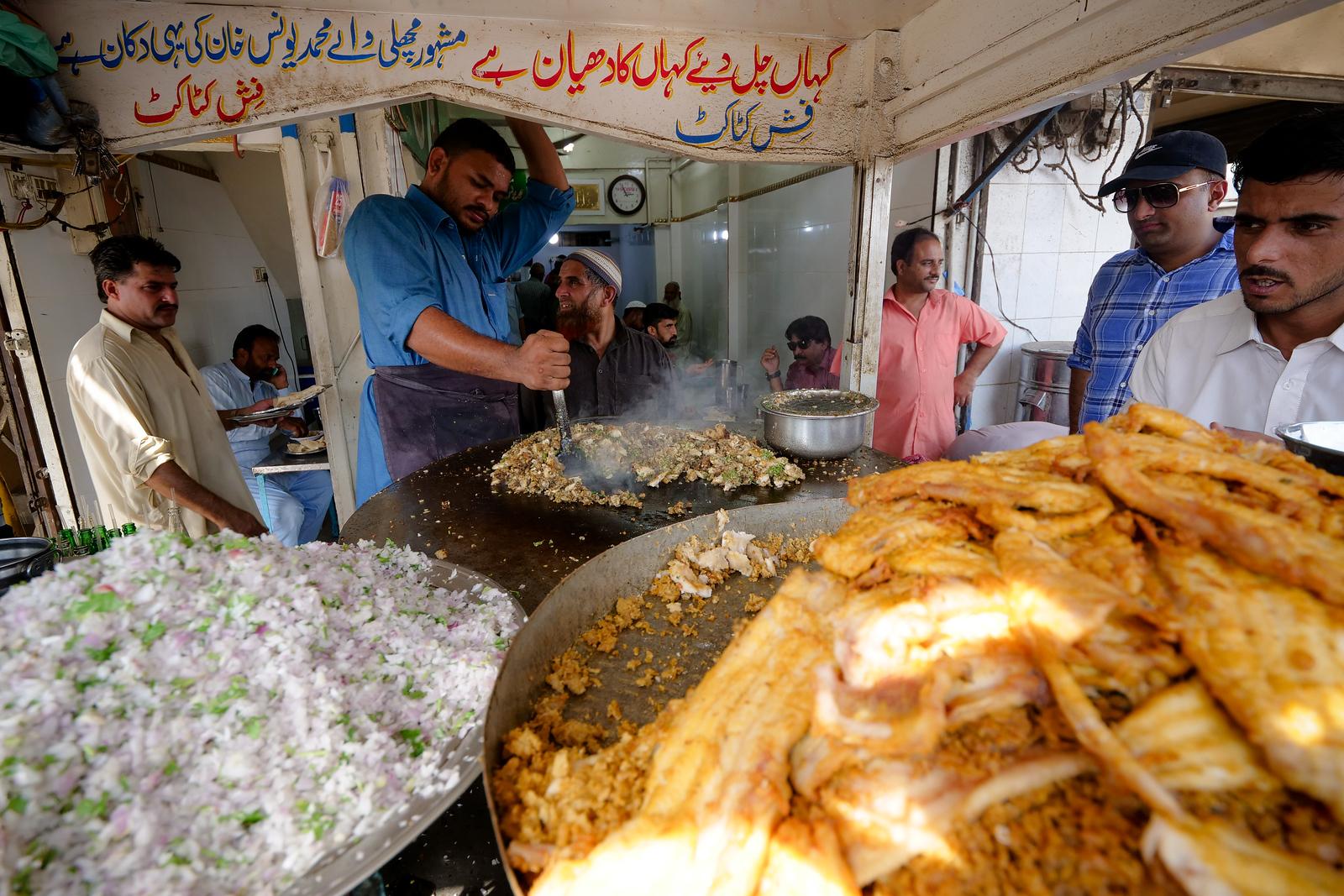 Fish Kata-Kat at Masha Allah in Karachi