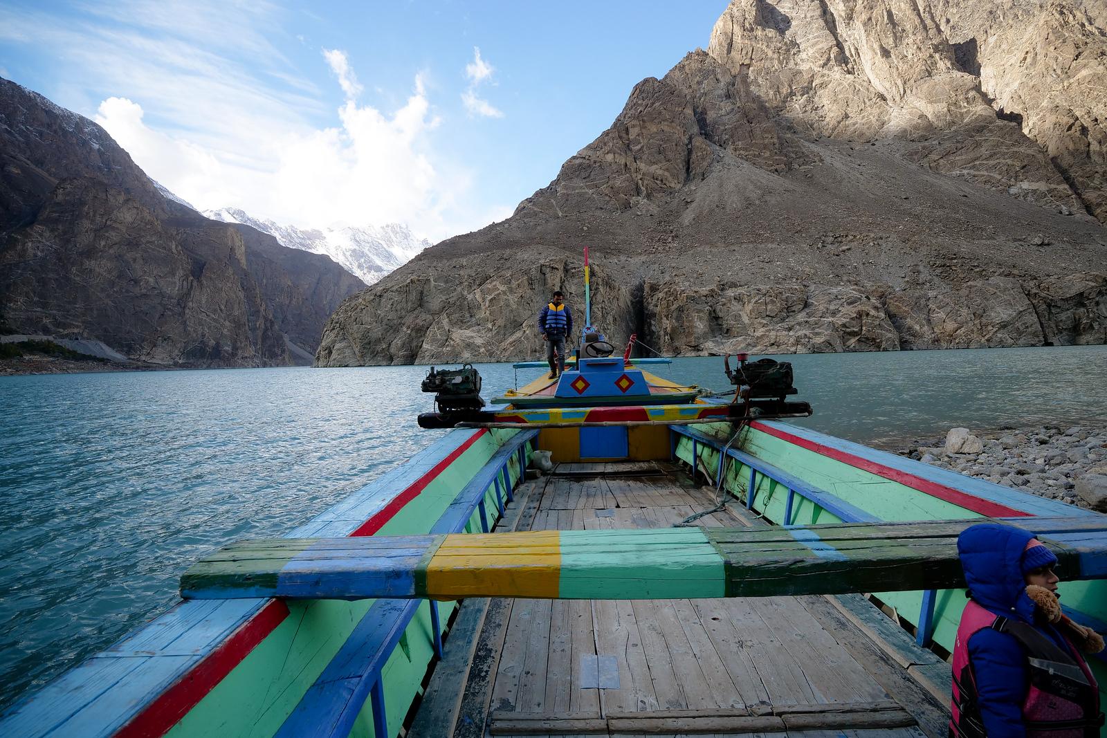 Attabad湖吉尔吉特 - 巴尔蒂斯坦