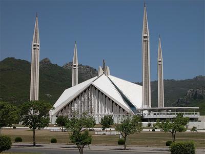 Faisal Mosque, Islamabad.