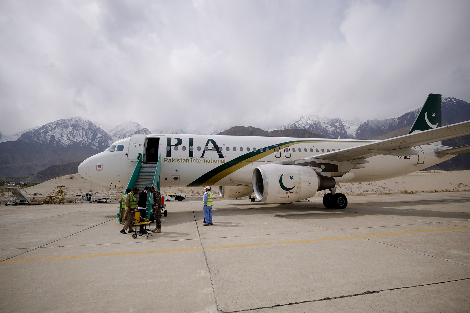 Pakistan Airlines flight to Skardu