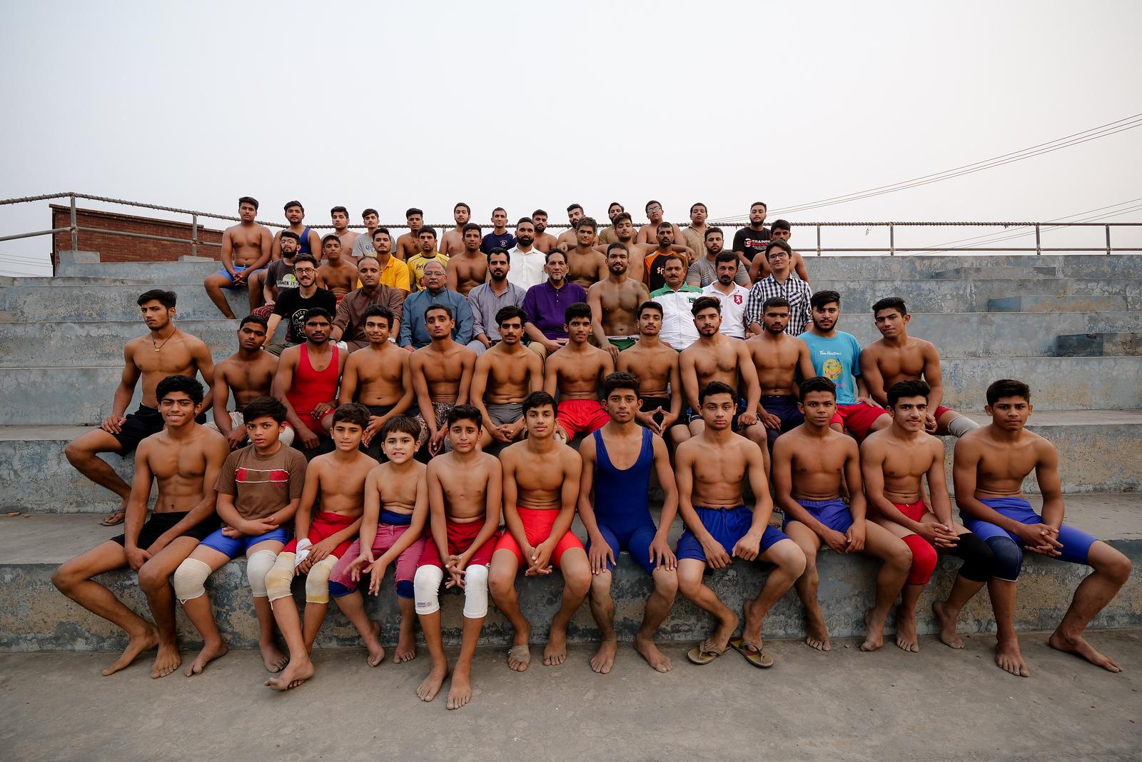 Olympic Wrestlers ini Gujranwala