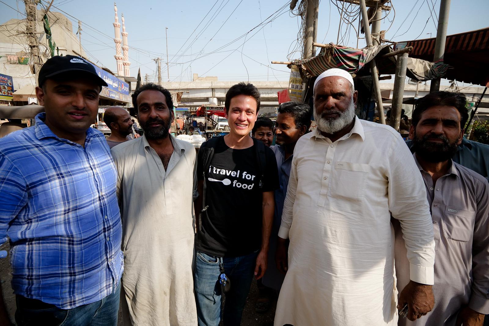 Very friendly people in Karachi, Pakistan