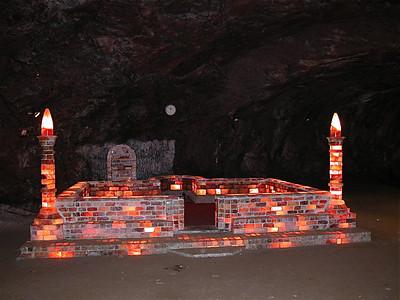 Khewra salt mine, Pakistan.
