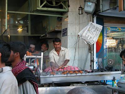 Chicken tikka? Rawalpindi, Pakistan.