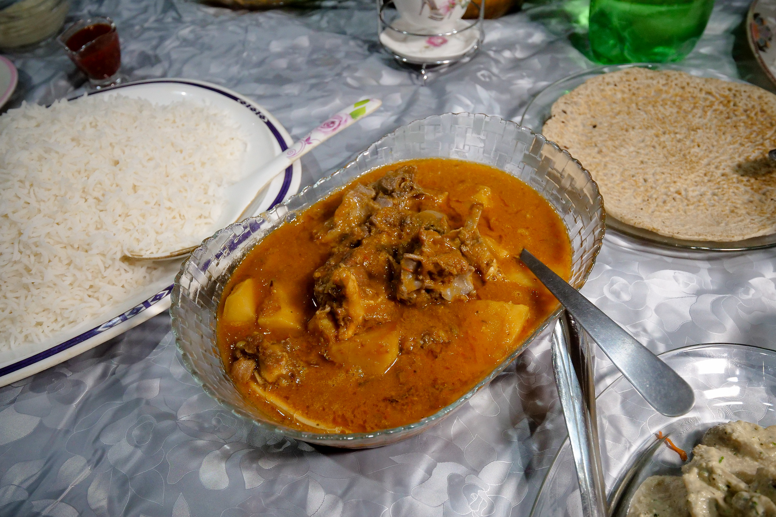 Goat Stew in Skardu