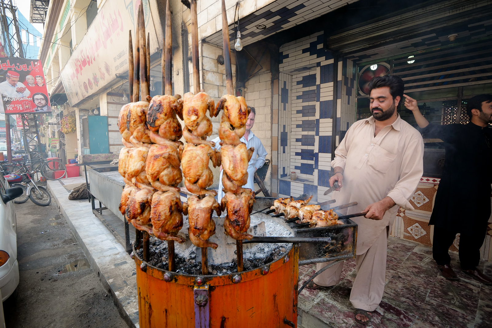 Chicken Sajji in Peshawar