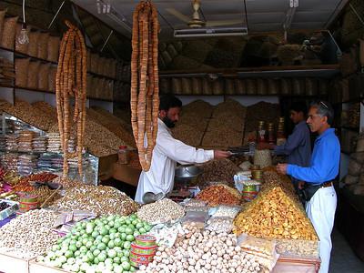 Market in the Murree Hills of Pakistan.