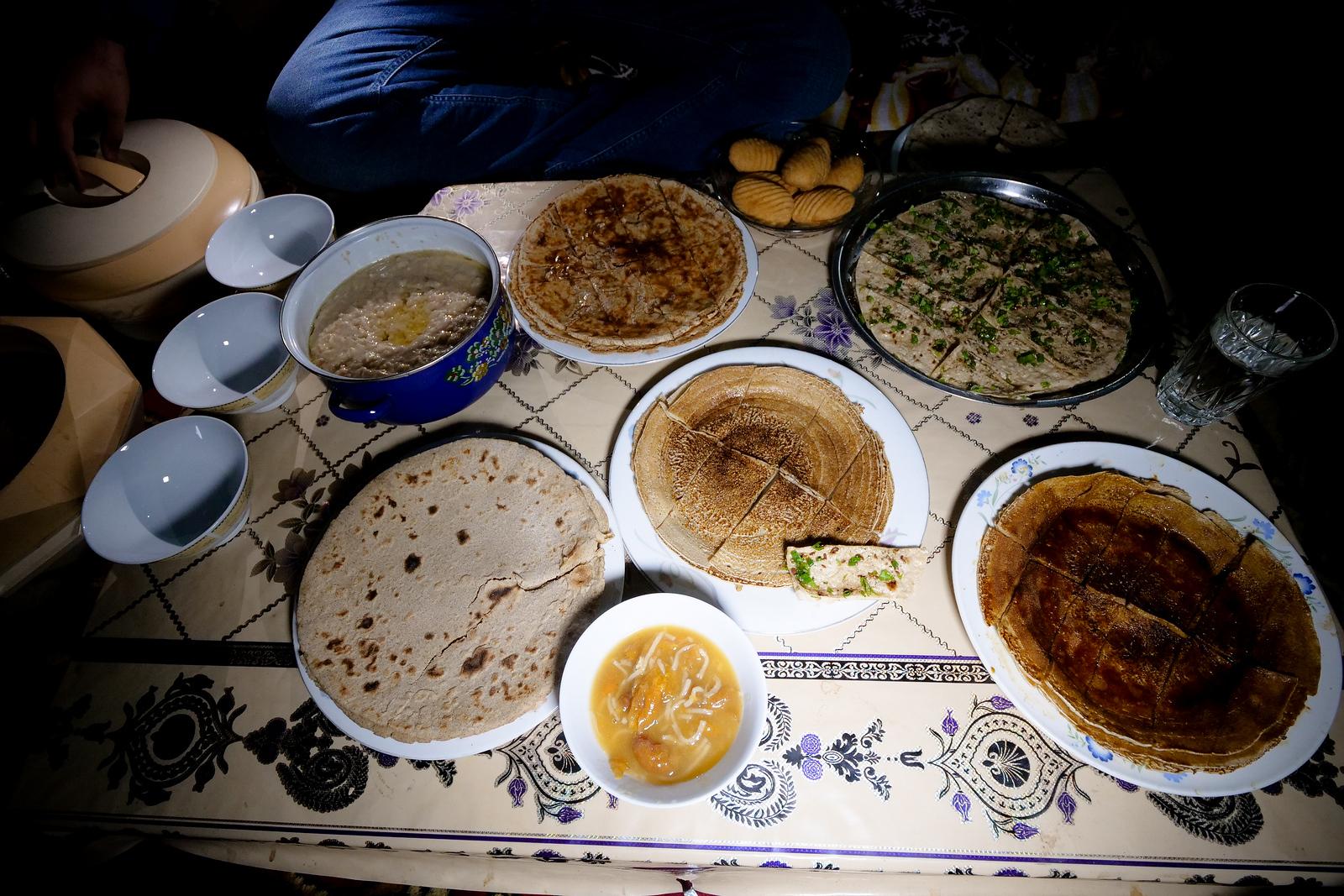 吉尔吉特-伯尔蒂斯坦当地的地道食物