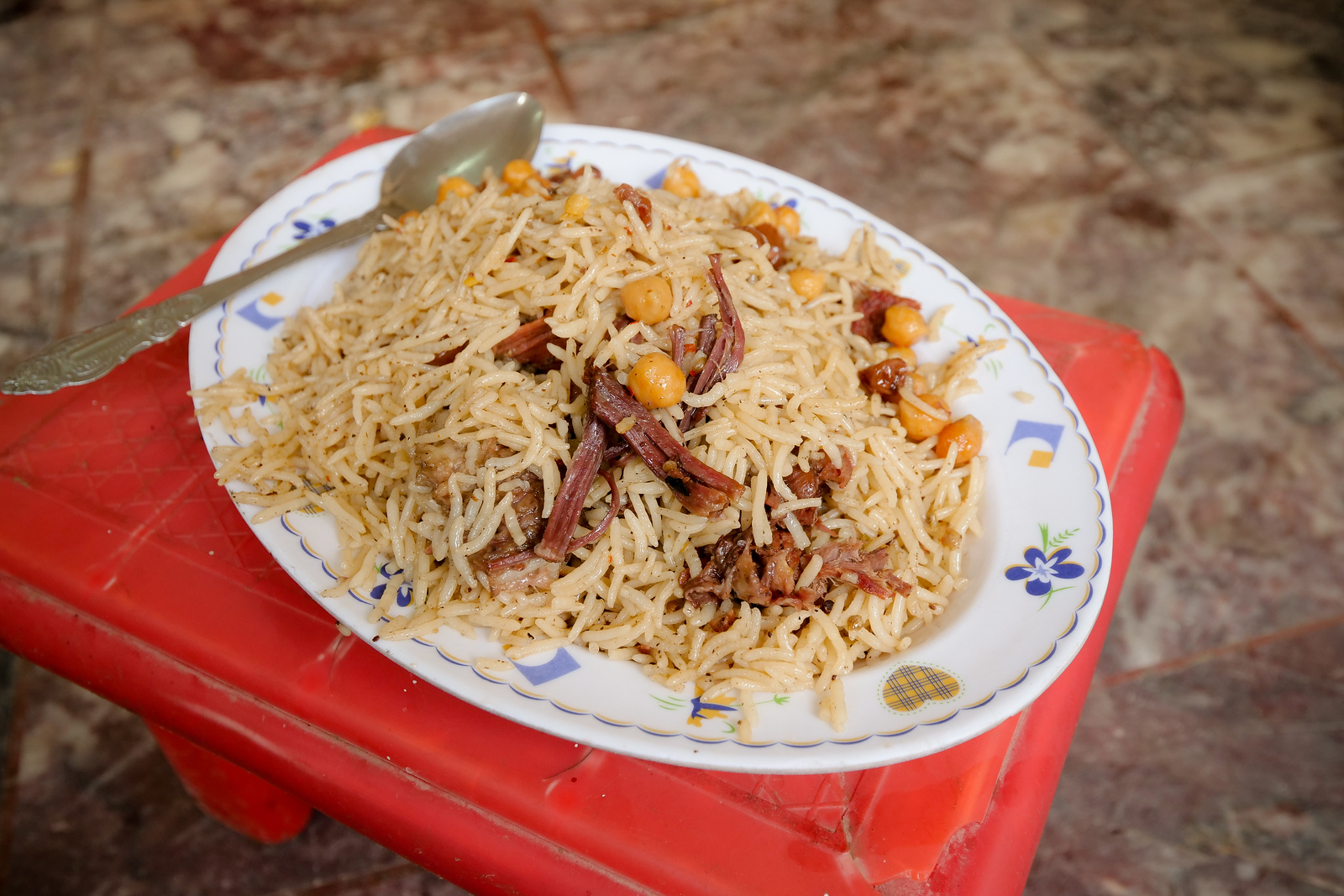 Kabuli Chawal is Rice Pulao