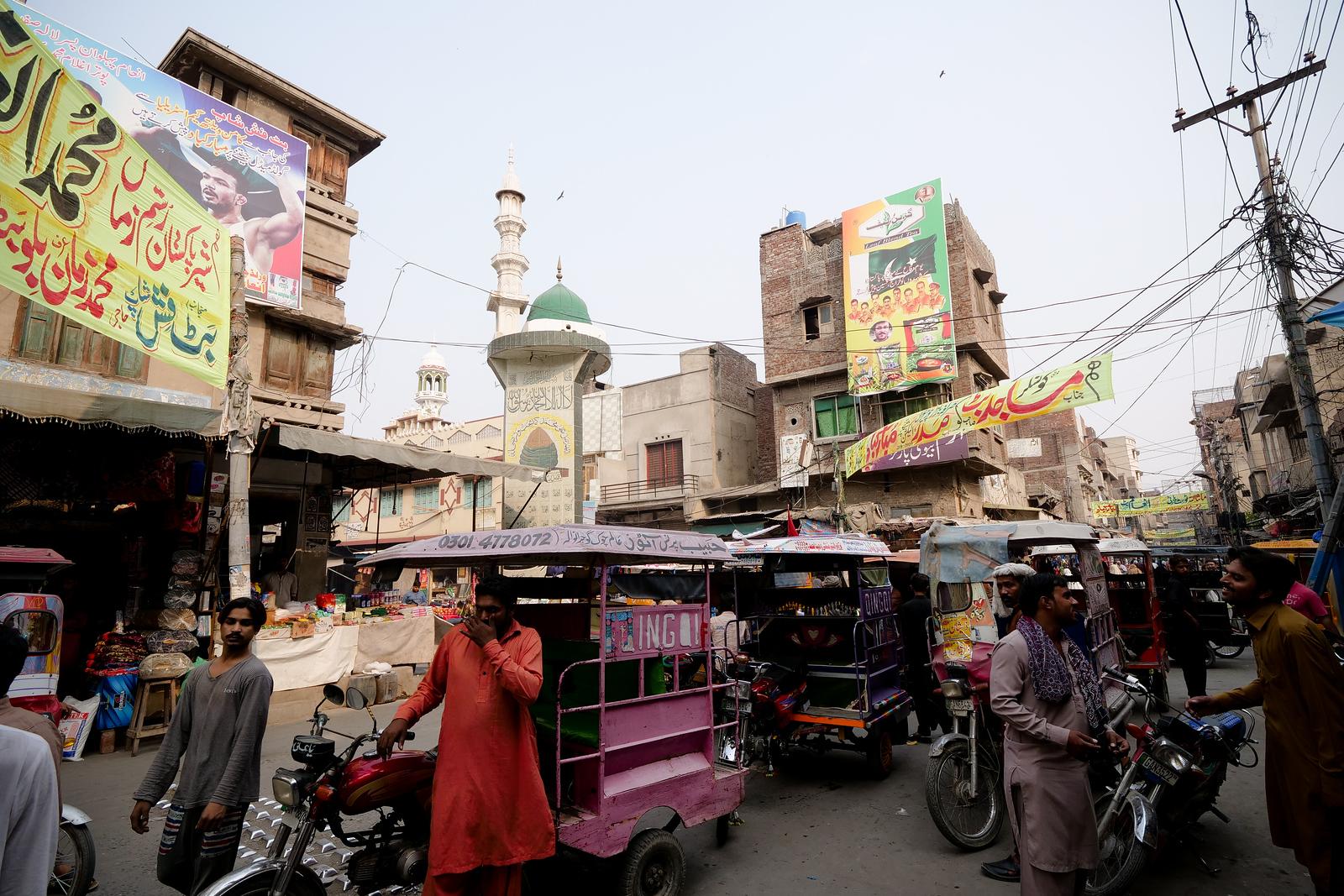 Afternoon Market in Gujranwala