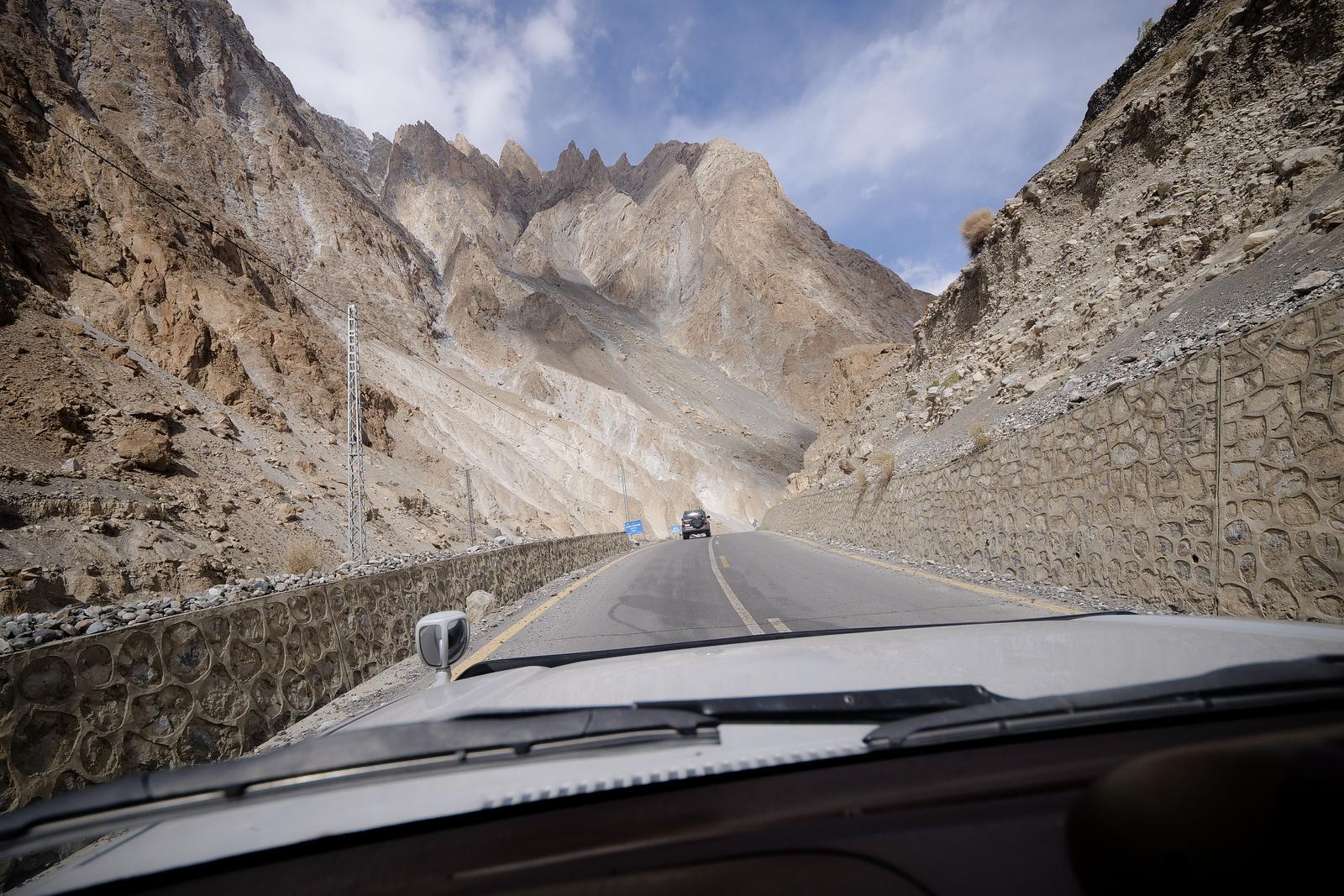 前往昆杰拉布山口