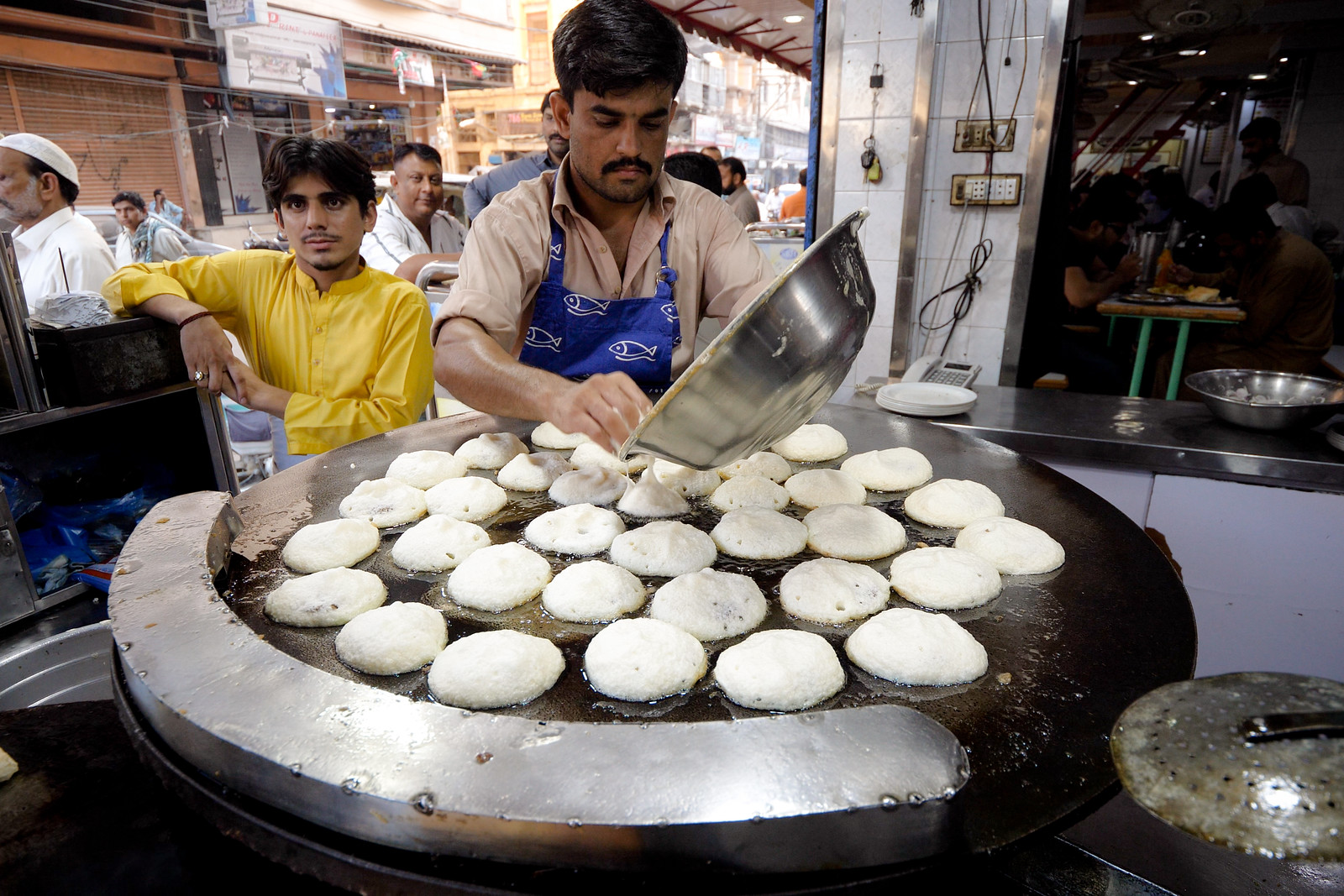 Pakistani street food in Karachi