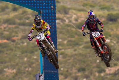 Jason Anderson and Marvin Musquin