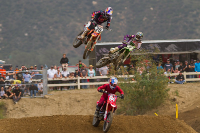 Roczen, Musquin and Tomac