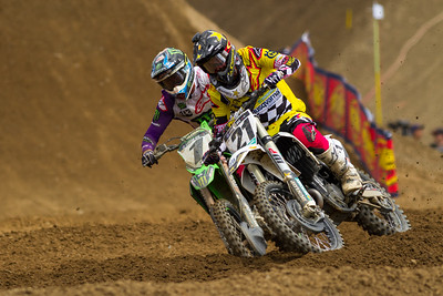 Eli Tomac and Jason Anderson