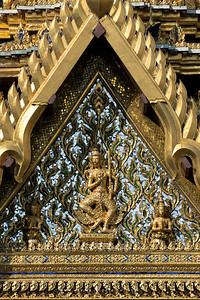 Indra God with Sword, Aphorn Phimok Prasat Pavilion, Grand Palace