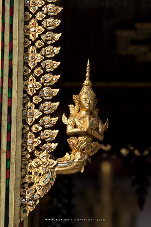 Thep Phanom, Aphorn Phimok Prasat Pavilion, Grand Palace