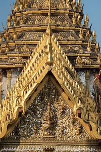 Narayana on Garuda, Dusit Maha Prasat Throne Hall, Grand Palace