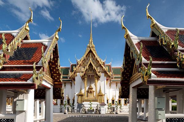 Dusit Maha Prasat Throne Hall, Grand Palace
