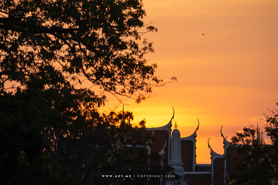 Sunset at the Grand Palace