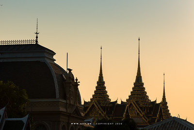 Borom Phiman Mansion and Chakkri Maha Prasat Throne Hall, Grand Palace