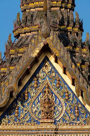 Narai on Garuda, Siwalai Maha Prasat Throne Hall, Grand Palace